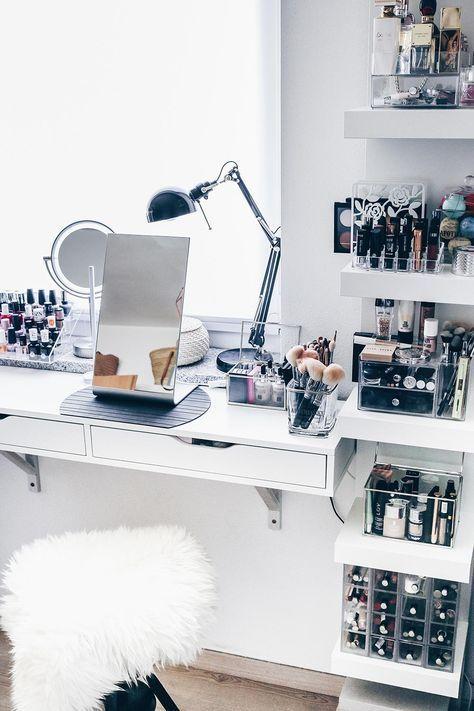 make up tafel inspiratie idee n homease. Black Bedroom Furniture Sets. Home Design Ideas