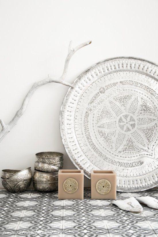 Marokkaanse invloeden interieur