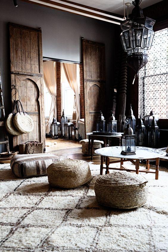 Marokkaanse woonkamer voor theeceremonie | HOMEASE