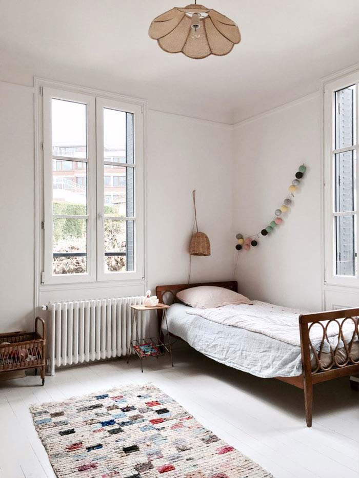 meisjeskamer vintage meubels