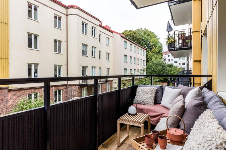 Met zo'n fijn balkon heb je geen tuin nodig!