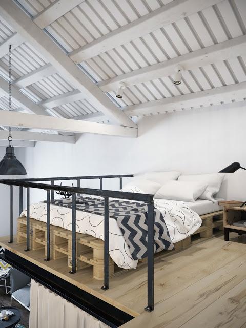 Mini loft van 45m2