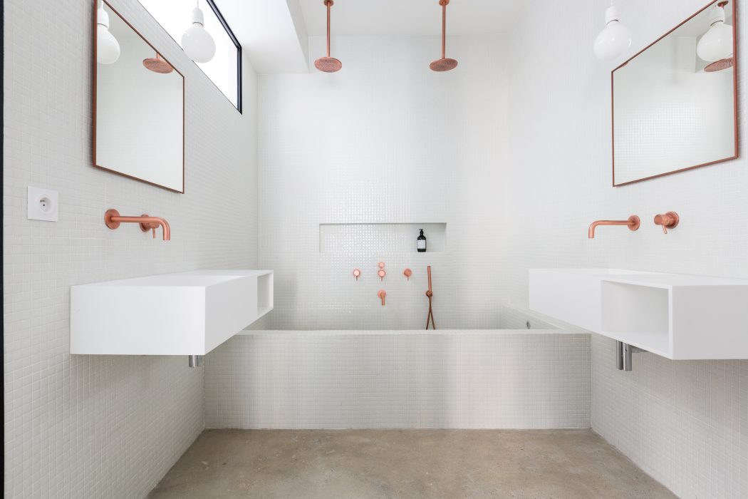 Minimalistisch chique badkamer homease