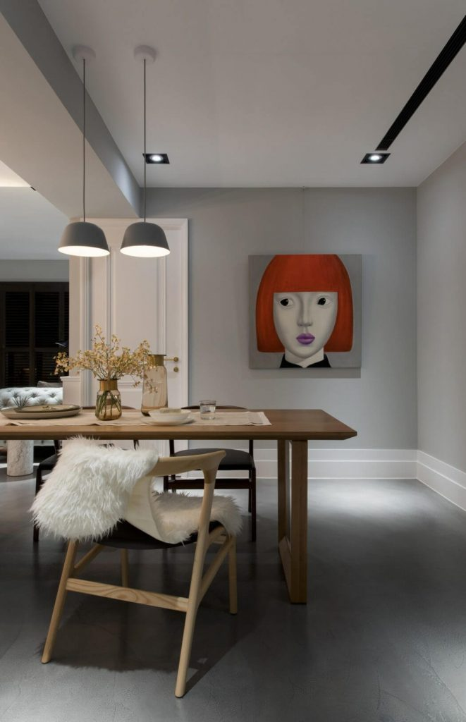 Minimalistisch modern en klassiek chique woonkamer homease for Sfeer en chique