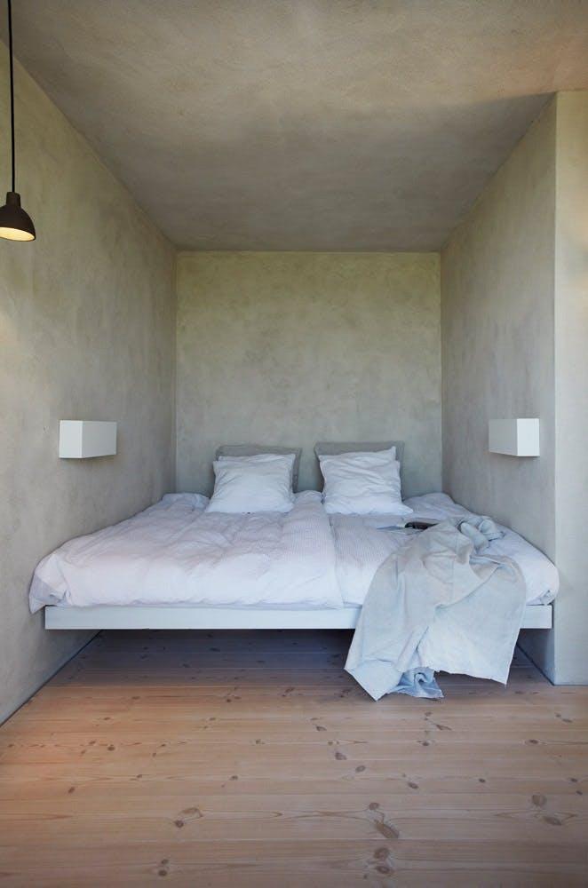 Minimalistische interieurs