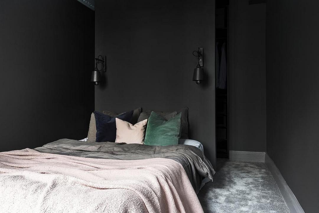 Kleine Minimalistische Slaapkamer : Minimalistische slaapkamer inloopkast combinatie homease