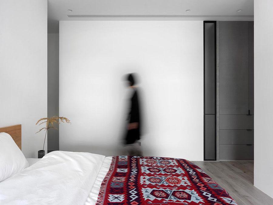 Modern appartement met grijstinten