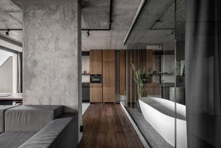 modern industrieel appartement van 82m2