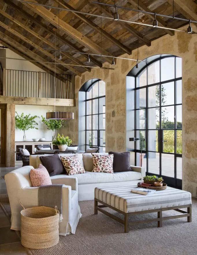 Jute heeft niet alleen een mooie slaapkamer ontworpen, ook de woonkamer mag er wezen met de met zorg uitgekozen meubels en accessoires!