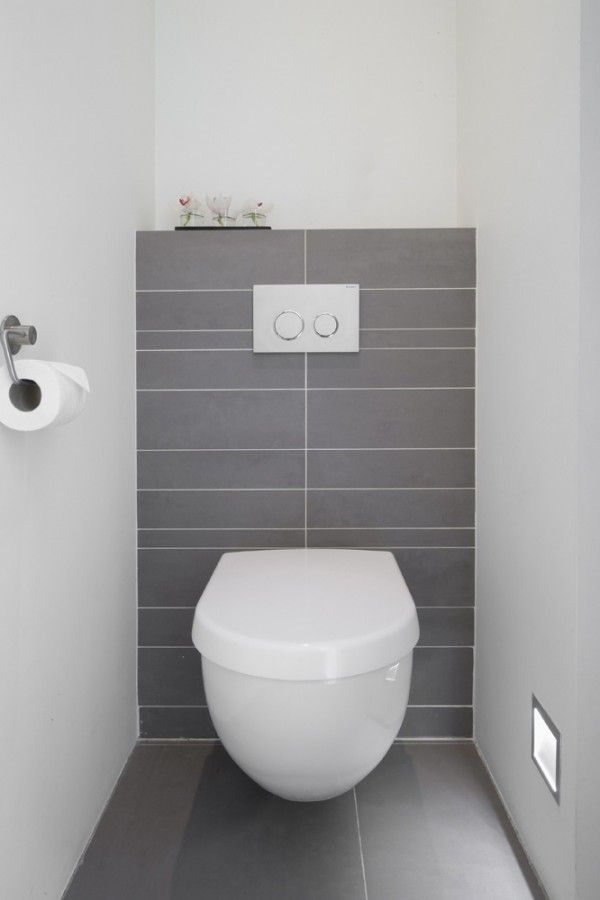 10x toilet inspiratie homease for Wc fliesen modern