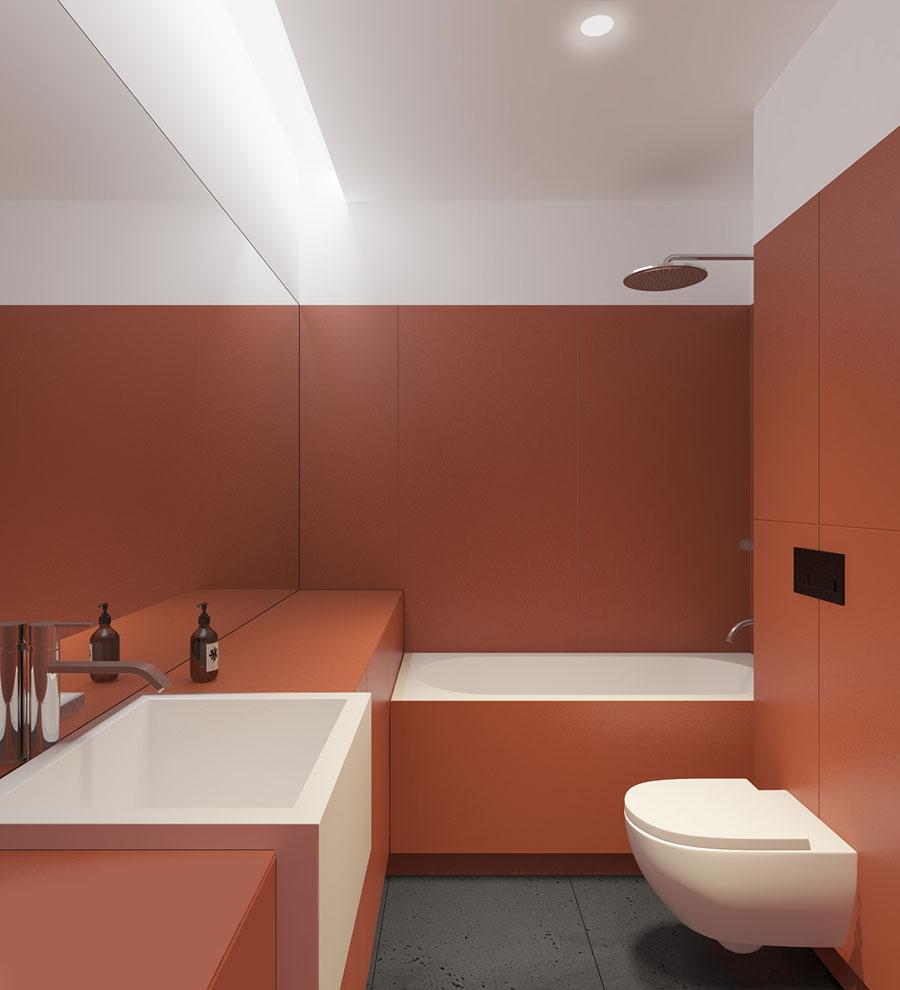 moderne badkamer strak modern