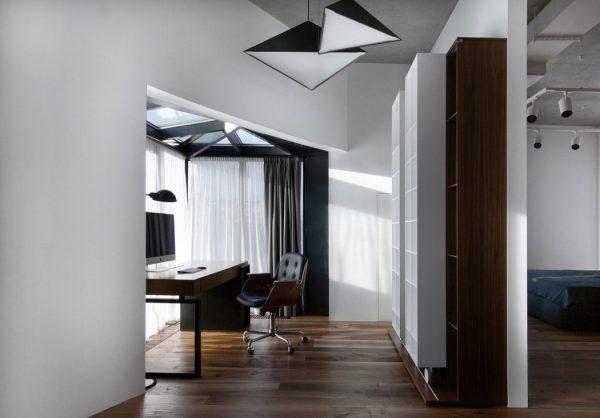 Moderne loft kantoor