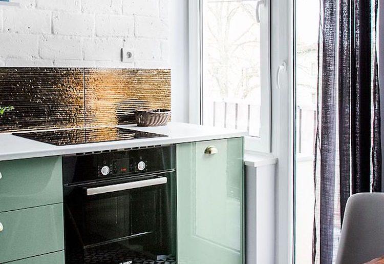 Zwart Scandinavisch Keuken : In deze moderne keuken is scandinavisch met vintage gecombineerd