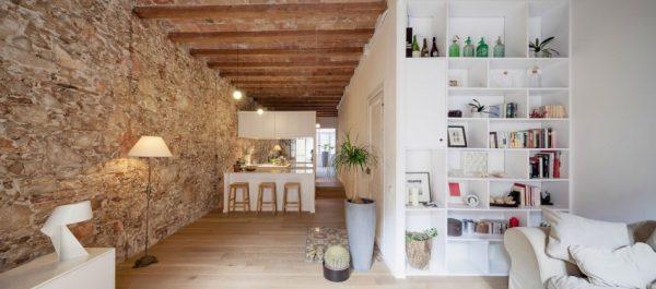 Moderne keuken met karakteristieke details