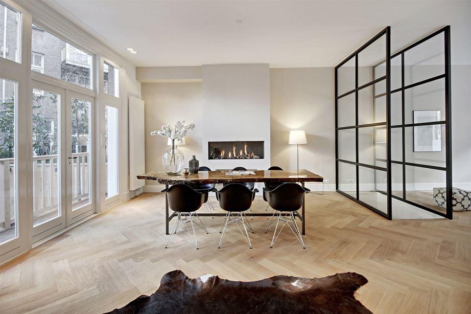 Moderne klassieke woonkamer homease - Moderne eetkamer en woonkamer ...
