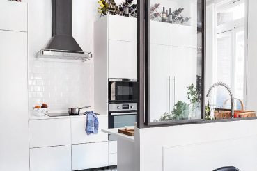 Moderne klassieke woonkeuken