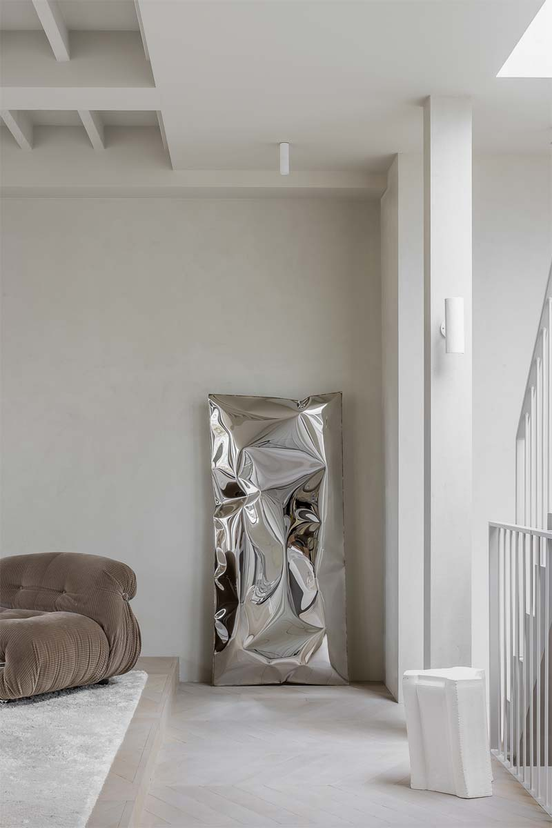 moderne kunst interieur blikvanger