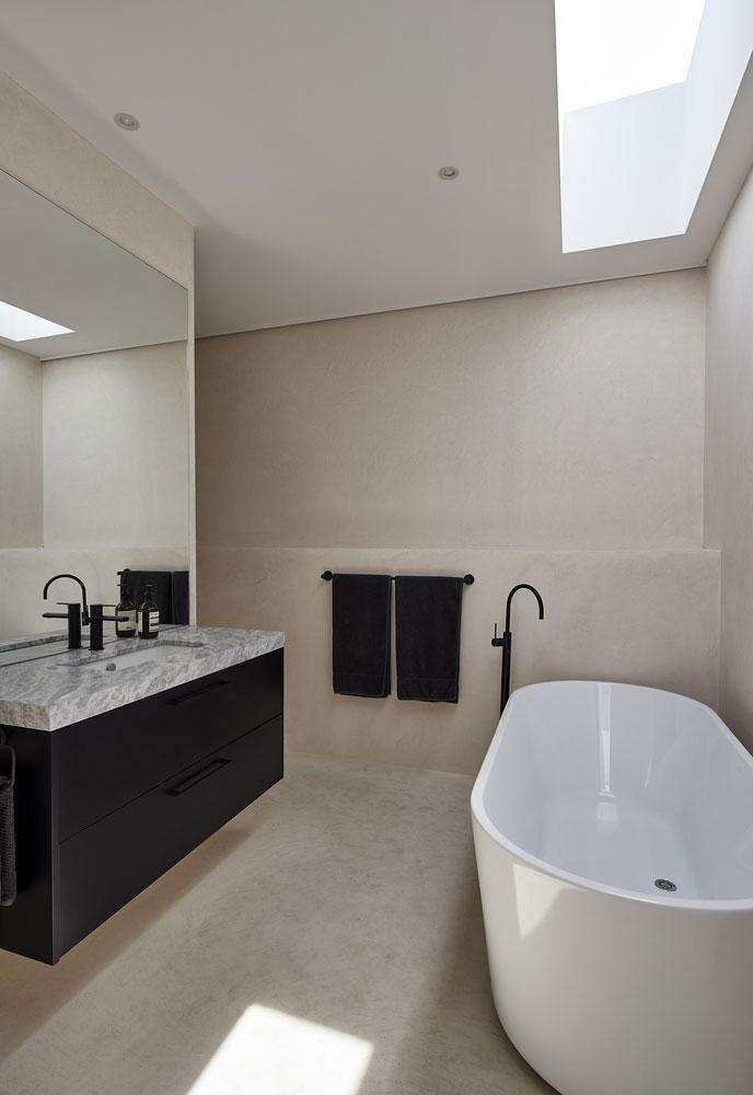 moderne minimalistische designbadkamer