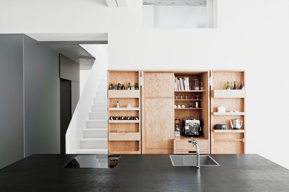 8x Minimalistische Werkplek : Moderne minimalistische keuken homease