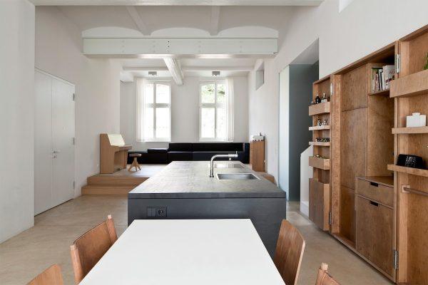 Moderne minimalistische keuken