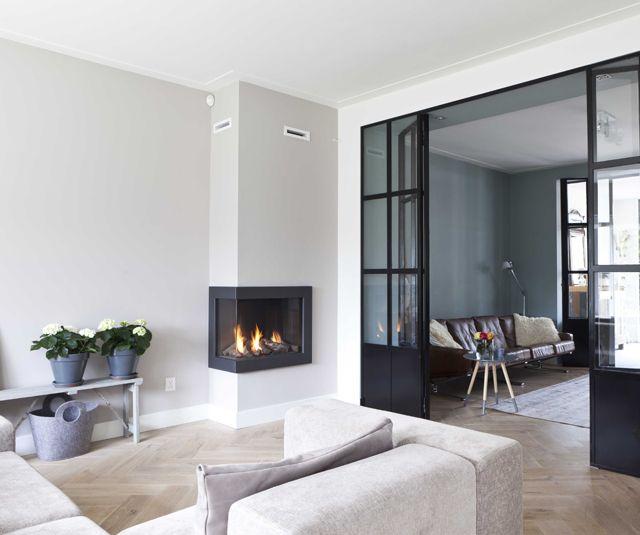 10x open haard in de woonkamer homease - Open haard moderne ...