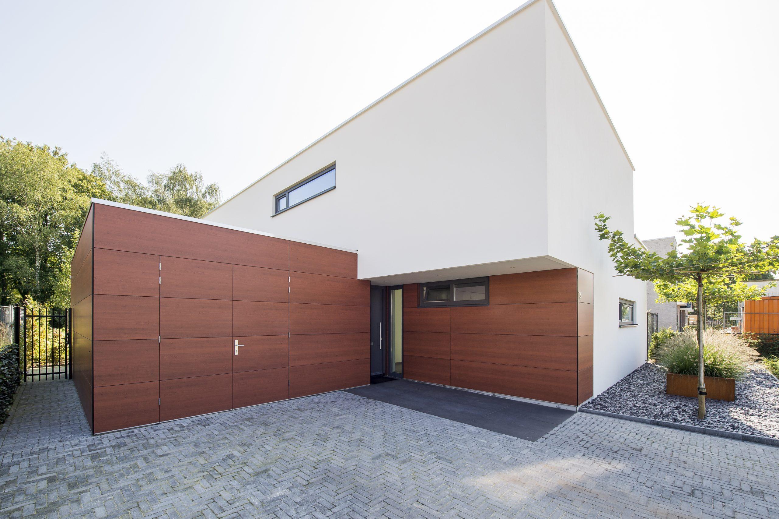 Moderne prefab villa van Janssen-bouw
