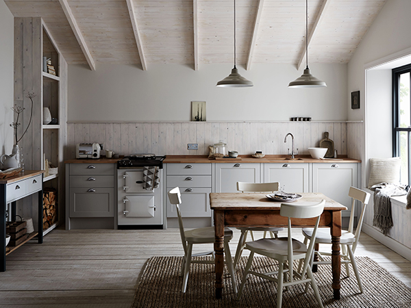 Moderne rustieke keuken van howdens homease