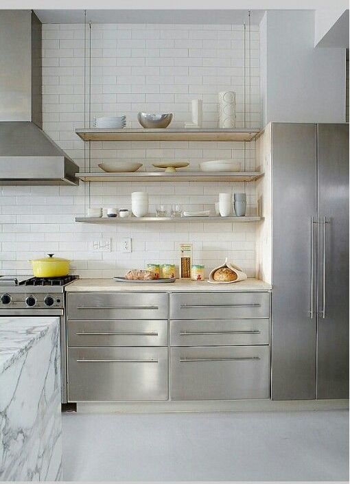 moderne-rvs-keuken