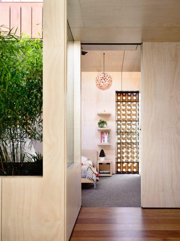 Moderne slaapkamer door Schulberg Demkiw Architects