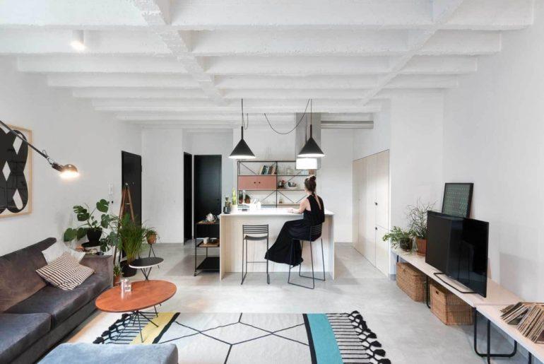 moderne woonkamer art deco