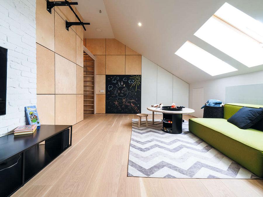 moderne woonkamer kindvriendelijk
