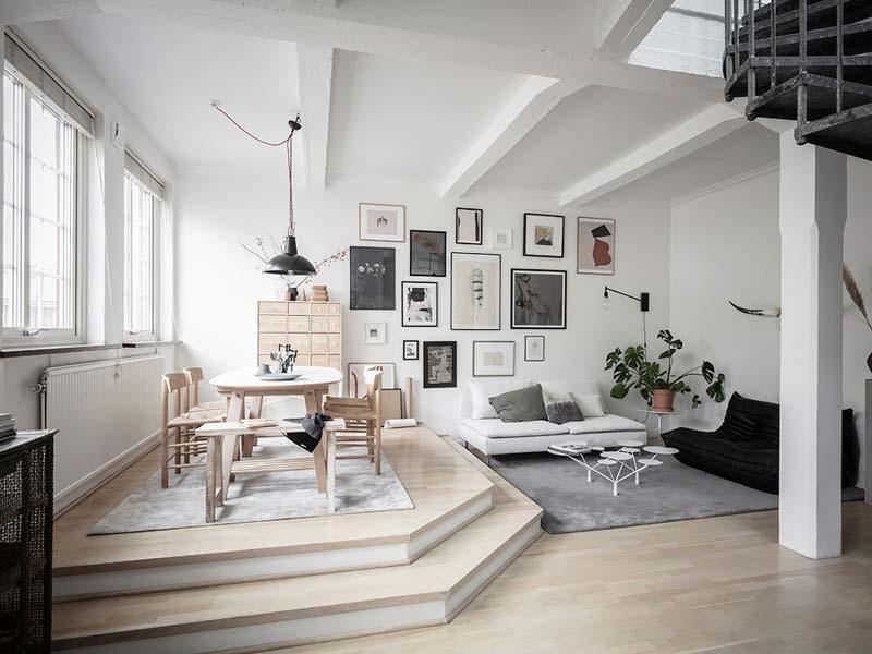 moderne woonkamer speels