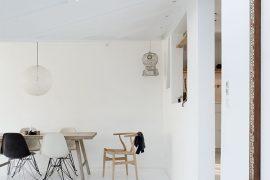 Mooi wit interieur