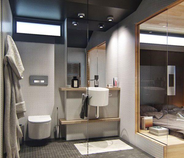 Mooie badkamer in een klein appartement homease - Mooie badkamers ...