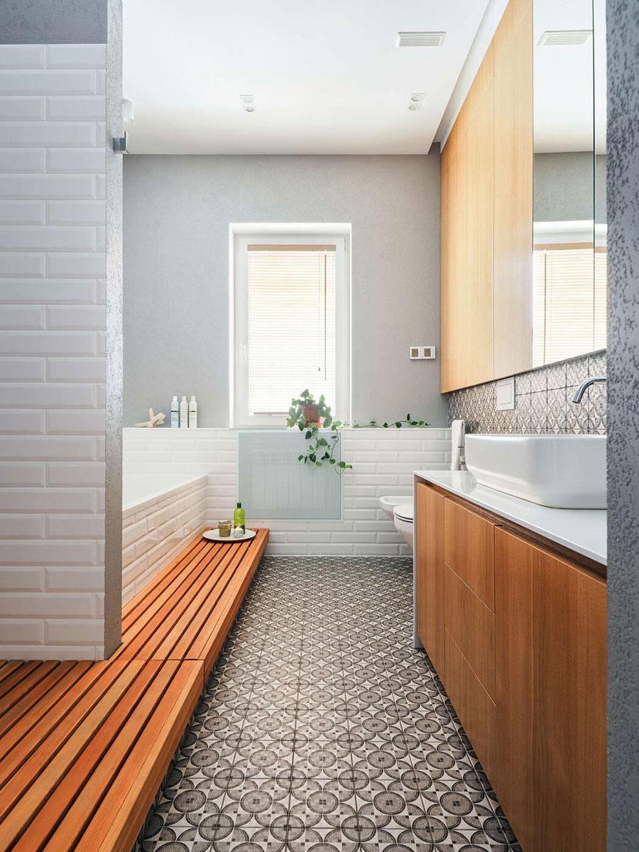 Mooie moderne badkamer met een spa gevoel