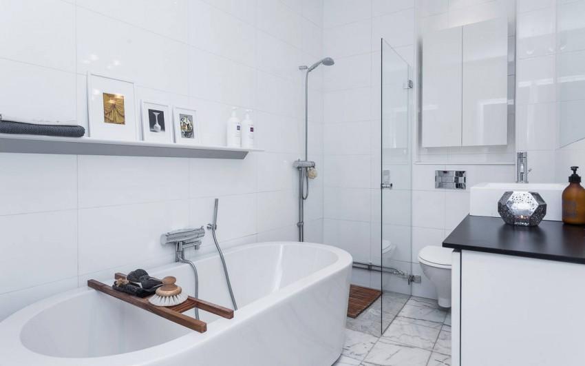 Mooie Scandinavische badkamer | HOMEASE