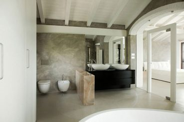 Mooie spa badkamer
