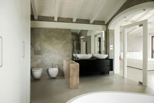 Mooie spa badkamer homease - Italiaanse douche mosai dat ...
