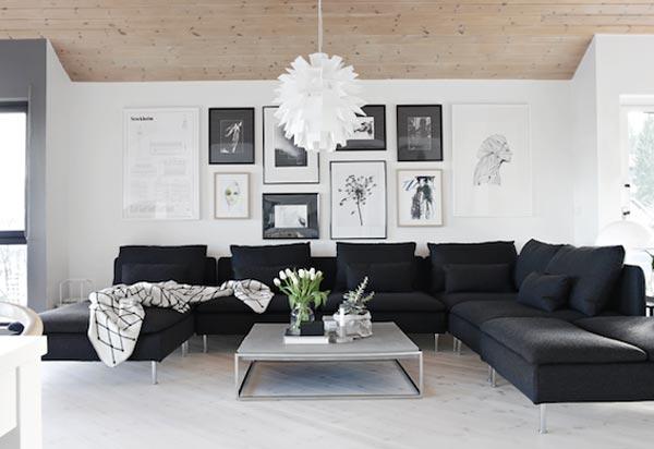 Mooie woonkamer van nina holst homease - Kleur moderne woonkamer ...