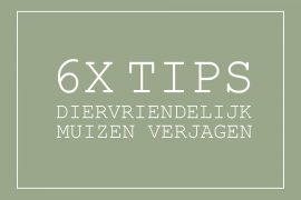 Muis verjagen tips