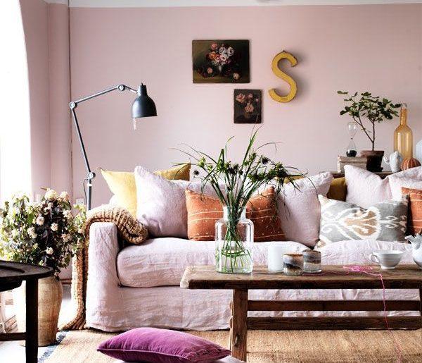 muur met twee kleuren homease
