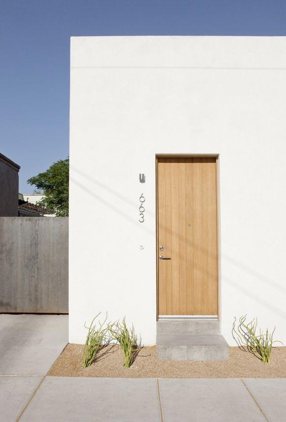 Naambord voordeur inspiratie