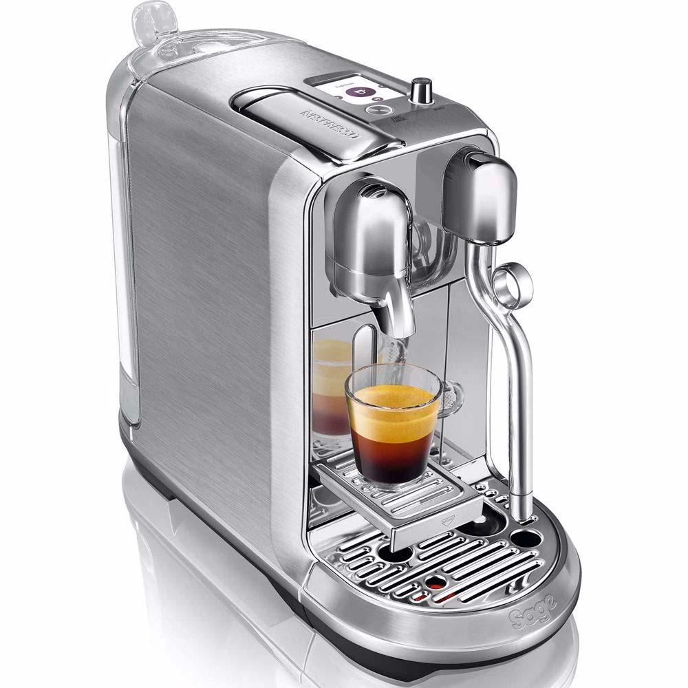Beste koffiemachine thuis Nespresso Sage Creatista Plus