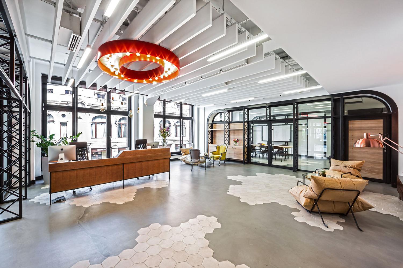 Het nieuwe kantoor van Opera Software in Polen
