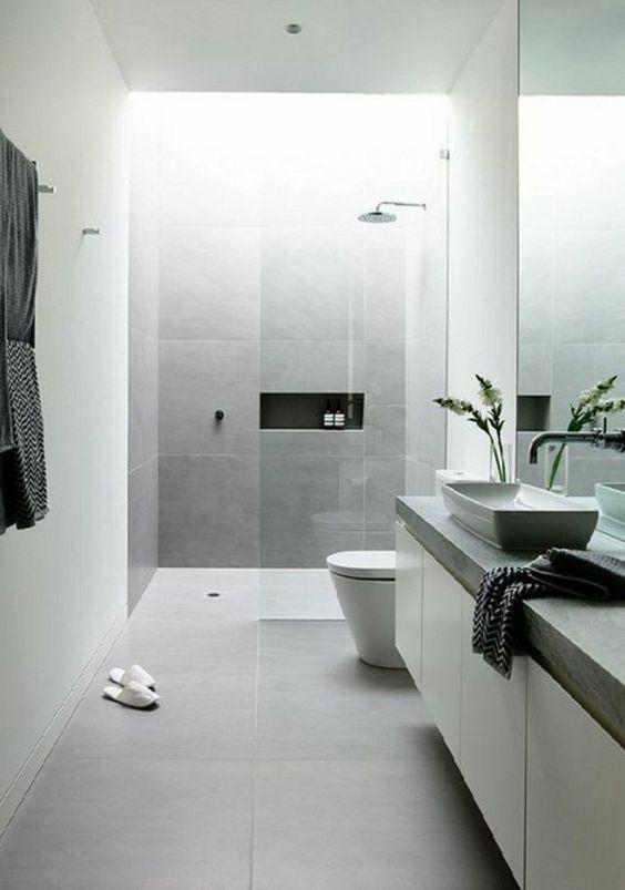 Nisje in de douche
