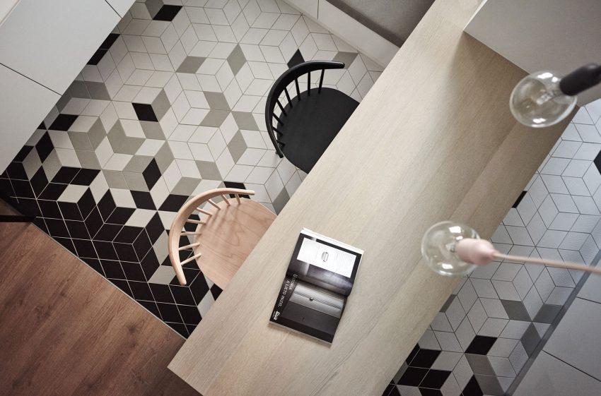 Ontwerp van een moderne loungekeuken