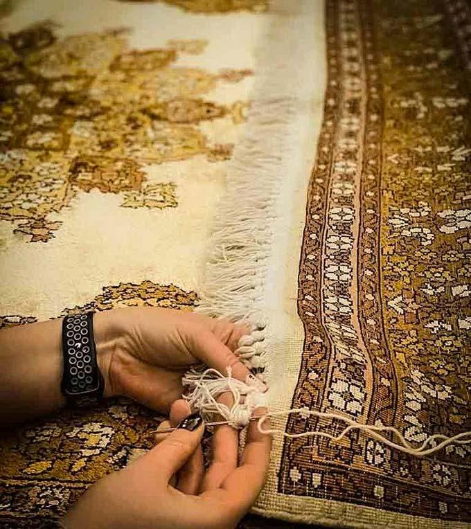 oosterse tapijt productie