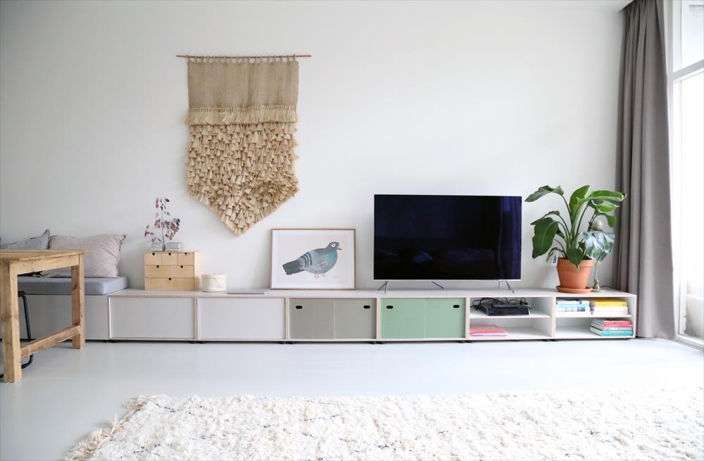Tv Kast Muur.Op Maat Gemaakte Tv Meubel Homease