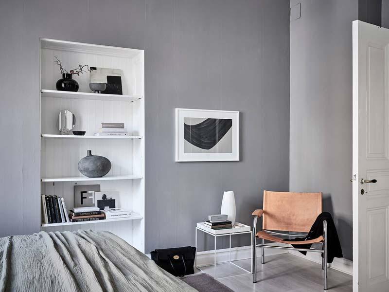 open inbouwkast slaapkamer