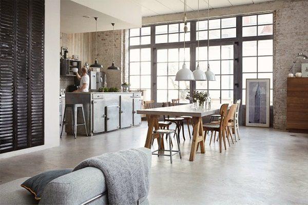 Open keuken bar